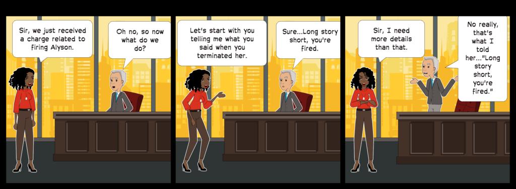 employee, fire, employee termination, hr, lawsuit, discrimination